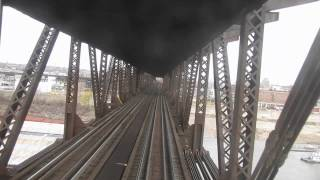 Download Amtrak Texas Eagle Crossing St Louis Bridge Video