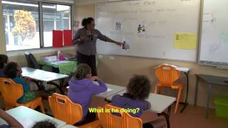 Download A school lesson in Aboriginal language Guugu Yimidhirr Video