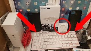 Download (CHASED BY SECURITY) HUGE APPLE STORE DUMPSTER DIVE HAUL!! Free Apple Products! Video