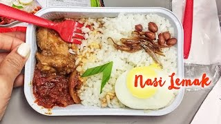 Download Nasi Lemak on AirAsia ► Malaysian Airplane Food from Bali to Singapore Video