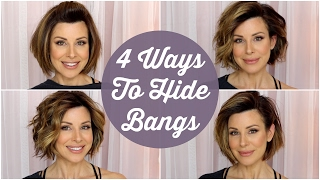 Download 4 Quick Ways To Hide Your Bangs! Video