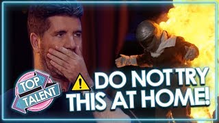 Download SUPER DANGEROUS AUDITIONS Send Judges Into Meltdown! *DON'T TRY THIS AT HOME* | Top Talent Video