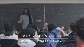 Download Local seventh graders explore roots, identity and language at Harvard Video