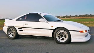 Download Honda Powered MR2 DESTROYS Supras! (600hp Turbo K24) Video