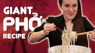 Download GIANT PHO RECIPE CHALLENGE Video