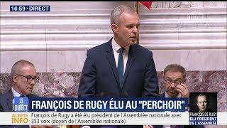 Download Le discours de François de Rugy, président de l'Assemblée nationale Video