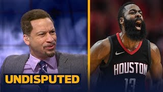 Download Chris Broussard on D'Antoni's comment that Harden is the 'best offensive player ever'   UNDISPUTED Video