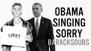 Download Barack Obama Singing Sorry by Justin Bieber Video