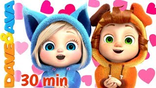 Download 💘 Skidamarink - Happy Valentine's Day! | Dave and Ava Nursery Rhymes and Baby Songs💘 Video