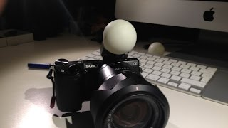 Download Diffuser for small flashes - Sony NEX Flash Blitz Video