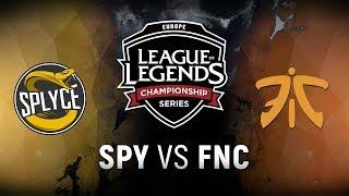 Download SPY vs. FNC - Week 4 Day 1 | EU LCS Summer Split | Splyce vs. Fnatic (2018) Video