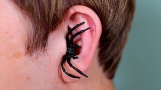Download SPIDER IN EAR! Video