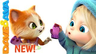 Download 🎶 Three Little Kittens Songs for Toddlers | Nursery Rhymes from Dave and Ava 🎶 Video