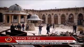 Download Esed destekçileri Halep'teki tarihi enkazlar arasında utanmadan böyle poz verdi Video