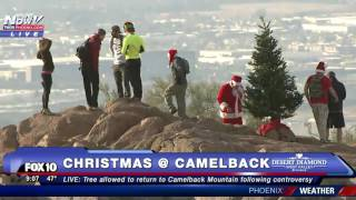 Download FNN: Christmas Tree Returns to Top of Camelback Mountain Following Controversy Video
