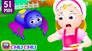 Download Little Miss Muffet and Many More Nursery Rhymes & Kids Songs Collection | ChuChu TV Video