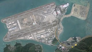 Download Landing at HongKong International Airport Video
