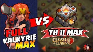 Download Serangan FULL VALKYRIE MAX melawan TH 11 MAX! - CoC Indonesia Video