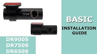 Download BlackVue DR750S, DR650S – BASIC Installation Guide Video