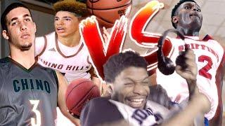 Download BALL BROTHERS vs ZION WILLIAMSON!! Video