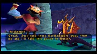 Download Spyro 2 Ripto's Rage!: Part 25: Finishing Up Fracture Hills (Hunter & the Alchemist) Video