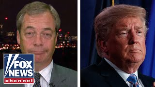 Download Nigel Farage on the 'red line' Trump 'ban' Video