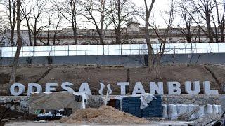 Download В Одессе в Стамбульском парке поселились «борцы с майдаунами» Video