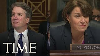Download Kavanaugh Apologizes To Sen. Klobuchar After Asking If She Had Ever Been Blackout Drunk | TIME Video