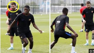Download Messi and Dembele train together for the first time. (Is Dembele Neymar's replacement?) Video