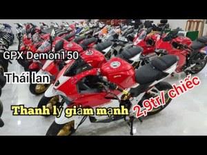 Giảm 2,9 Triệu, dòng sport GPX Demon 150,Cở nhỏ Và suzuki GSX R-150,Bình Dương| Mỹ Motor