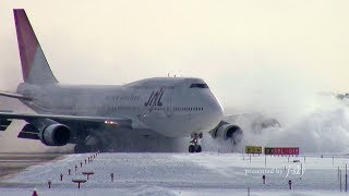 Download Reverse thrust on taxi way? JAL 747 Memorial #003 : 747-446D [JA8083] at CTS/RJCC : Landing Video