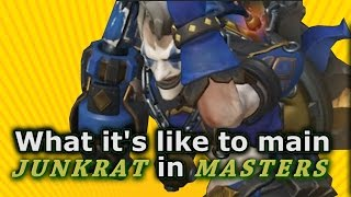 Download Overwatch - What it's like to main Junkrat in Masters Video