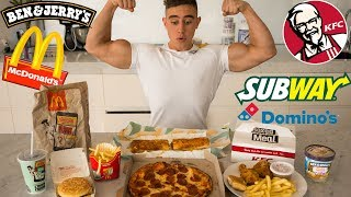 Download EVERY FAST FOOD CHALLENGE | Epic Cheat Meal Video