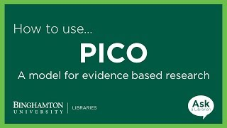 Download PICO: A Model for Evidence Based Research Video