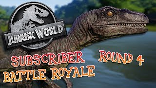 Download SUBSCRIBER BATTLE ROYALE! - Round 4 (Jurassic World: Evolution) Video