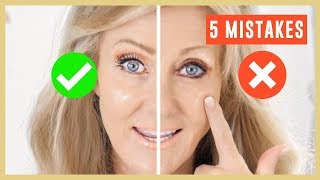 Download 5 Biggest Makeup Mistakes On Mature Eyes Tutorial Over 50 | Fabulous50s Video