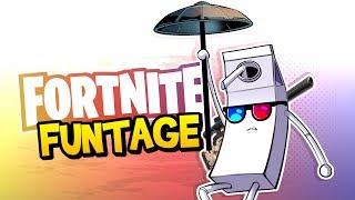 Download Fortnite Battle Royale FUNTAGE! - MLG Trickshot, The BEST Skybridge & More! Video