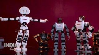 Download India's robotics industry is growing Video