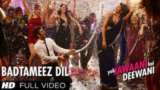 Download Badtameez Dil Full Song HD Yeh Jawaani Hai Deewani   Ranbir Kapoor, Deepika Padukone Video
