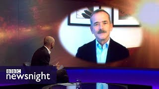 Download Astronaut Chris Hadfield on SpaceX's ambitious plans - BBC Newsnight Video