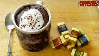 Download Microwave Chocolate Mug Cake (Eggless Cake) | 2 Minute Cake Recipe | Headbanger's Kitchen Video