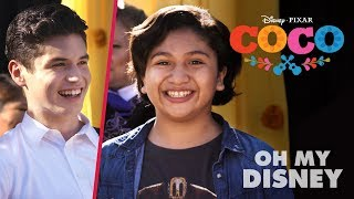 Download Anthony Gonzalez & Sean Oliu Cover Coco's ″Un Poco Loco″ | Oh My Disney Video