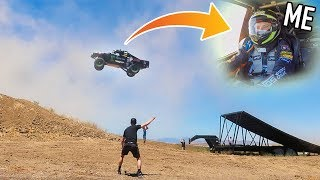 Download LAUNCHING $200,000 TRUCK OFF GIANT RAMP! (150ft+) Video