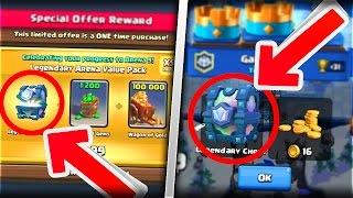 Download 2 WAYS TO OBTAIN THE LEGENDARY CHEST!! | NEW Clash Royale September Update!! Video