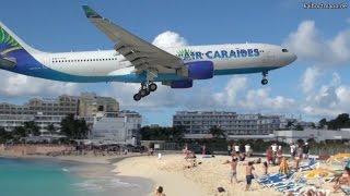 Download Planespotting SXM - St. Maarten, Maho Beach, Princess Juliana Airport - 24.01.2012 Video