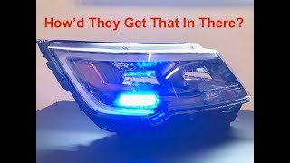 Download How To Install A Whelen Ion Led Light In A Ford Police Interceptor Utility Headlight Video