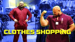 Download TRYING TO FIND CLOTHES THAT FIT | 6'8″ 450LBS | BRIAN SHAW Video