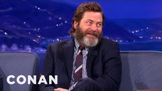 Download Nick Offerman's Awesome Romance Tips Video