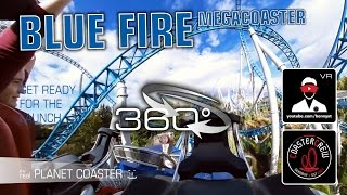 Download 360° Get Ready for the Launch | Blue Fire Roller Coaster | 4K #360video VR on-ride POV | Europa Park Video