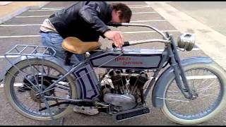 Download 1914 Harley-Davidson Fire up and ride!!! Video